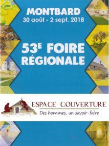 51ème Foire Régionale à Montbard