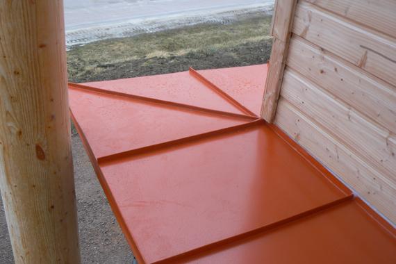 toiture réalisée par espace couverture menuisier couvr'eur(