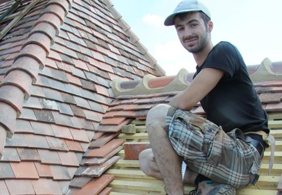 travail de couverture et isolation de toiture d'Espace Couverture artisan couvreur à Précy sous thil